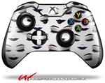 Face Dark Purple - Decal Style Skin fits Microsoft XBOX One Wireless Controller