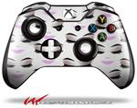 Face Light Pink - Decal Style Skin fits Microsoft XBOX One Wireless Controller