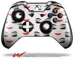 Face Red - Decal Style Skin fits Microsoft XBOX One Wireless Controller