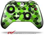 Scales Green - Decal Style Skin fits Microsoft XBOX One Wireless Controller