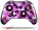 Scales Pink Purple - Decal Style Skin fits Microsoft XBOX One Wireless Controller
