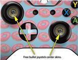 Donuts Blue - Decal Style Skin fits Microsoft XBOX One Wireless Controller