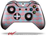 Decal Skin Wrap fits Microsoft XBOX One Wireless Controller Donuts Blue