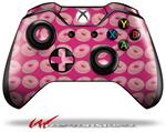 Decal Skin Wrap fits Microsoft XBOX One Wireless Controller Donuts Hot Pink Fuchsia