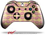 Donuts Yellow - Decal Style Skin fits Microsoft XBOX One Wireless Controller