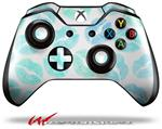 Blue Lips - Decal Style Skin fits Microsoft XBOX One Wireless Controller