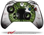 Decal Skin Wrap fits Microsoft XBOX One Wireless Controller Eyeball Green