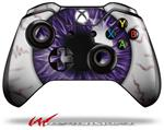 Eyeball Purple - Decal Style Skin fits Microsoft XBOX One Wireless Controller