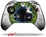 Decal Skin Wrap fits Microsoft XBOX One Wireless Controller Eyeball Blue Green