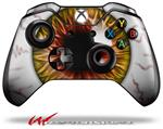 Eyeball Yellow Red - Decal Style Skin fits Microsoft XBOX One Wireless Controller