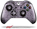 Folder Doodles Lavender - Decal Style Skin fits Microsoft XBOX One Wireless Controller