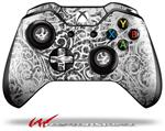 Decal Skin Wrap fits Microsoft XBOX One Wireless Controller Folder Doodles White