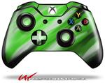 Decal Skin Wrap fits Microsoft XBOX One Wireless Controller Paint Blend Green
