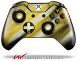 Decal Skin Wrap fits Microsoft XBOX One Wireless Controller Paint Blend Yellow