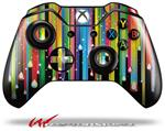 Decal Skin Wrap fits Microsoft XBOX One Wireless Controller Color Drops