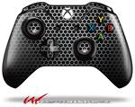 Decal Skin Wrap fits Microsoft XBOX One Wireless Controller Mesh Metal Hex 02