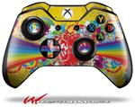 Decal Skin Wrap fits Microsoft XBOX One Wireless Controller Rainbow Music