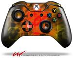 Decal Skin Wrap fits Microsoft XBOX One Wireless Controller Cubic Shards Yellow