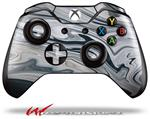 Decal Skin Wrap fits Microsoft XBOX One Wireless Controller Blue Black Marble