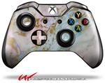 Decal Skin Wrap fits Microsoft XBOX One Wireless Controller Cotton Candy Gilded Marble