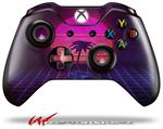 Decal Skin Wrap fits Microsoft XBOX One Wireless Controller Synth Beach