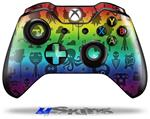 Cute Rainbow Monsters - Decal Style Skin fits Microsoft XBOX One Wireless Controller