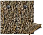 Cornhole Game Board Vinyl Skin Wrap Kit - WraptorCamo Grassy Marsh Camo fits 24x48 game boards (GAMEBOARDS NOT INCLUDED)