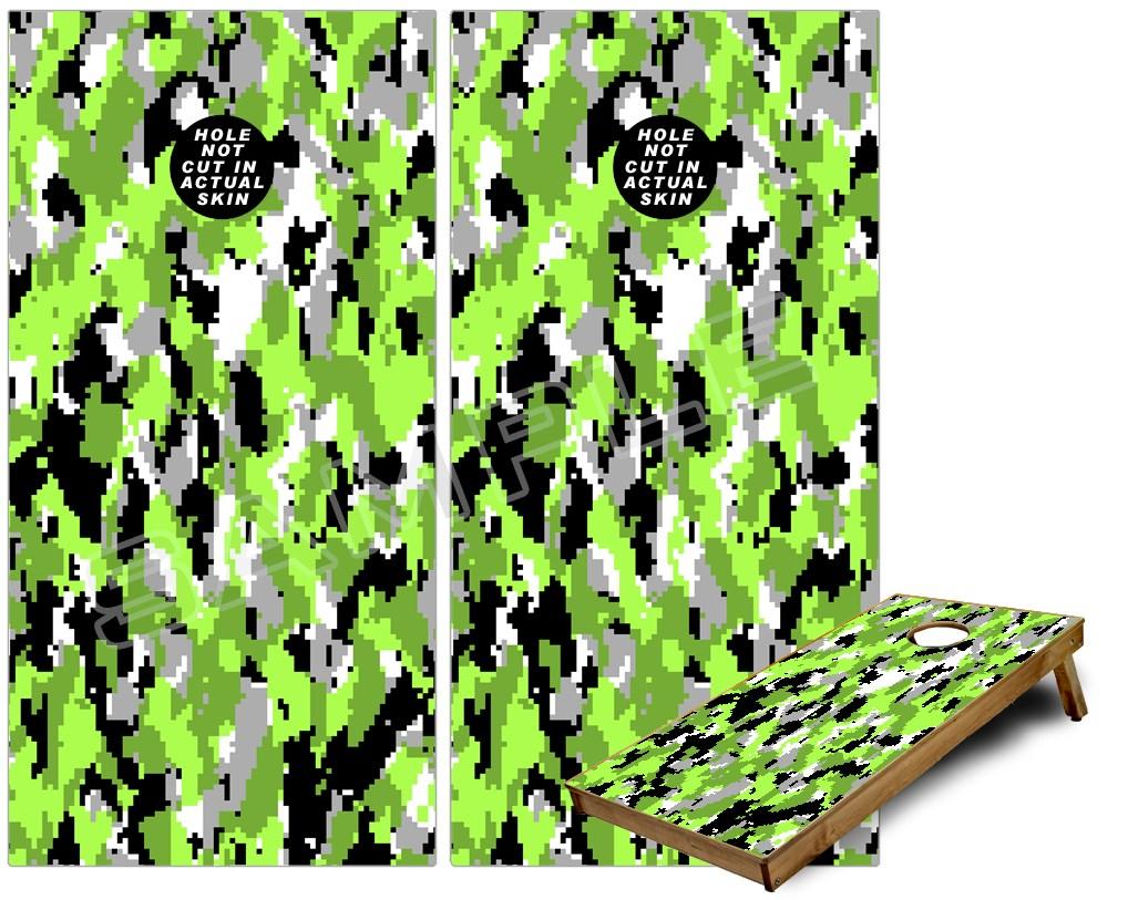Cornhole Game Board Skin Wraps Wraptorcamo Digital Camo