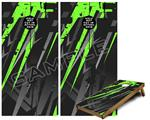 Cornhole Game Board Vinyl Skin Wrap Kit - Baja 0014 Neon Green fits 24x48 game boards (GAMEBOARDS NOT INCLUDED)