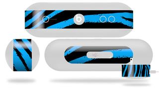Decal Style Wrap Skin fits Beats Pill Plus Zebra Blue (BEATS PILL NOT INCLUDED)