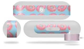 Decal Style Wrap Skin fits Beats Pill Plus Donuts Blue (BEATS PILL NOT INCLUDED)