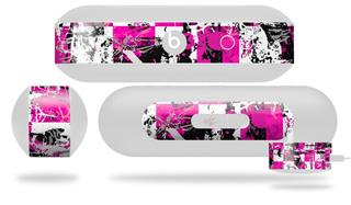 Decal Style Wrap Skin fits Beats Pill Plus Pink Graffiti (BEATS PILL NOT INCLUDED)