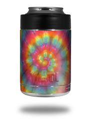 Skin Decal Wrap for Yeti Colster, Ozark Trail and RTIC Can Coolers - Tie Dye Swirl 107 (COOLER NOT INCLUDED)