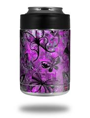 Skin Decal Wrap for Yeti Colster, Ozark Trail and RTIC Can Coolers - Butterfly Graffiti (COOLER NOT INCLUDED)