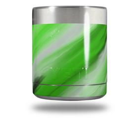 Skin Decal Wrap for Yeti Rambler Lowball - Paint Blend Green