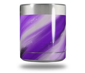 Skin Decal Wrap for Yeti Rambler Lowball - Paint Blend Purple