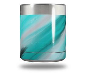 Skin Decal Wrap for Yeti Rambler Lowball - Paint Blend Teal