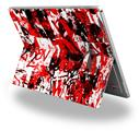 Red Graffiti - Decal Style Vinyl Skin (fits Microsoft Surface Pro 4)