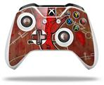 Red Right Hand - Decal Style Skin fits Microsoft XBOX One X and One S Wireless Controller