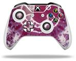 Tie Dye Happy 100 - Decal Style Skin fits Microsoft XBOX One X and One S Wireless Controller