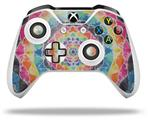 Tie Dye Star 104 - Decal Style Skin fits Microsoft XBOX One X and One S Wireless Controller