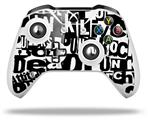 Punk Rock - Decal Style Skin fits Microsoft XBOX One X and One S Wireless Controller