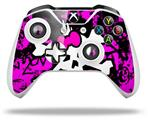 Punk Skull Princess - Decal Style Skin fits Microsoft XBOX One X and One S Wireless Controller
