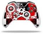 Emo Skull 5 - Decal Style Skin fits Microsoft XBOX One X and One S Wireless Controller