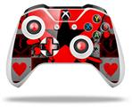 Emo Star Heart - Decal Style Skin fits Microsoft XBOX One X and One S Wireless Controller