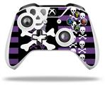 Skulls and Stripes 6 - Decal Style Skin fits Microsoft XBOX One X and One S Wireless Controller