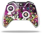 Grungy Flower Bouquet - Decal Style Skin fits Microsoft XBOX One X and One S Wireless Controller