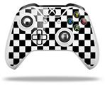 Checkers White - Decal Style Skin fits Microsoft XBOX One X and One S Wireless Controller