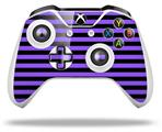 Stripes Purple - Decal Style Skin fits Microsoft XBOX One X and One S Wireless Controller