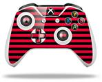 Stripes Red - Decal Style Skin fits Microsoft XBOX One X and One S Wireless Controller